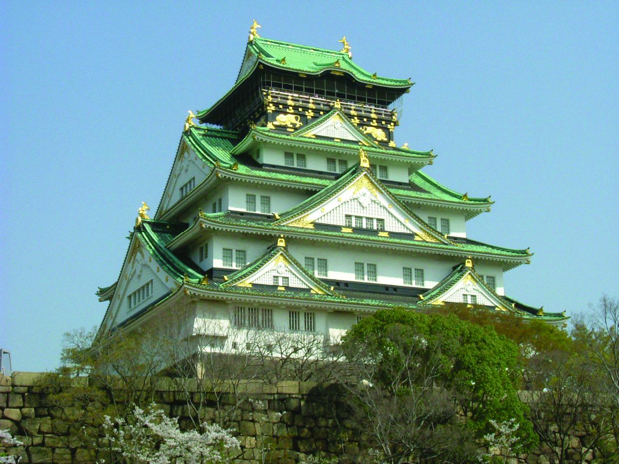 日本の名城 Calendar - 大阪城