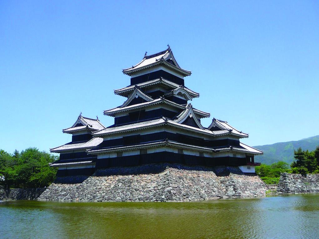 日本の名城 Calendar - 松本城