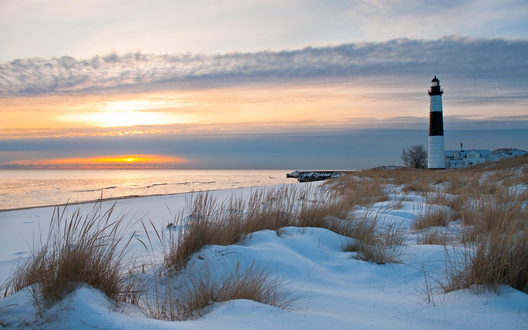 美しい海カレンダー - 早春の海