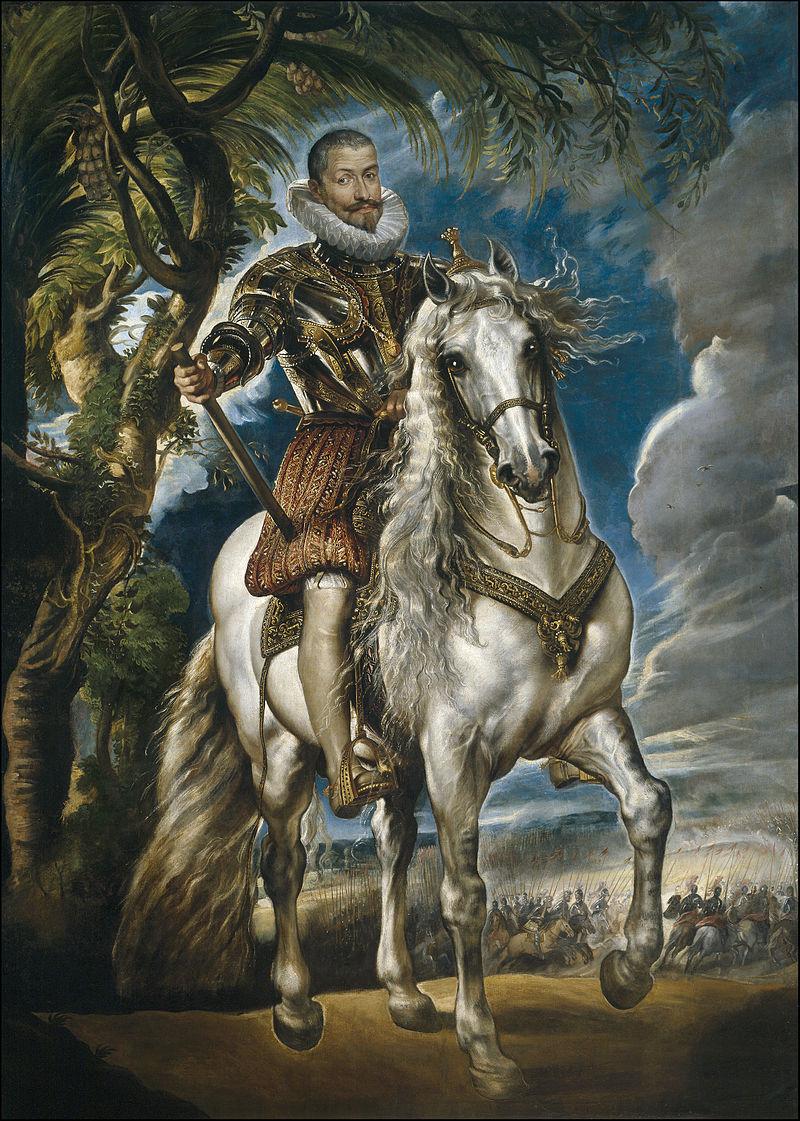 ルーベンス「レルマ公騎馬像」