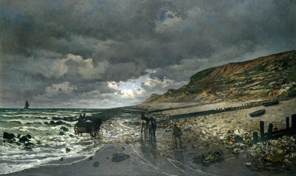 引き潮のラ・エーヴ岬