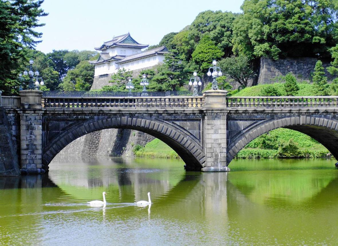 皇居「二重橋」